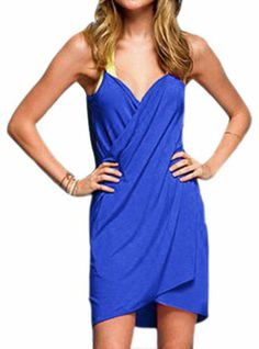 Pinkyee Women's Sexy Stylish Cross Front Beach Cover-up One Size Sapphire Blue Pinkyee,http://www.amazon.com/dp/B00GZ0RYO4/ref=cm_sw_r_pi_dp_AHZ.sb1QJT532S3D