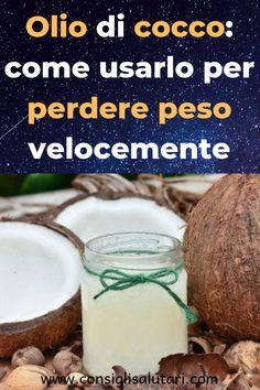 olio di cocco e caffè per dimagrire
