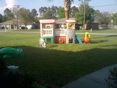 Toddler Outside Playset