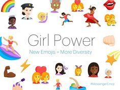 The update, rolling out now globally, includes more female icons and the option to change skin color.