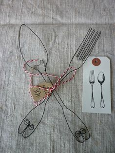 WIRE FORK AND SPOON www.terbgroup.it #terbgroup