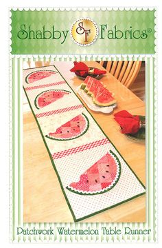 This is an easy pattern that uses both piecing and applique techniques. Finished table runner size is 53 x 12.5. For more quilt patterns, please visit: https://www.etsy.com/shop/Jambearies?section_id=12136362 To shop for fabric and quilted items, please visit my shop at: https://www.etsy.com/shop/Jambearies?ref=si_shop