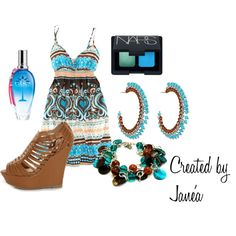 Simple Summer Fit, created by janeamterry on Polyvore