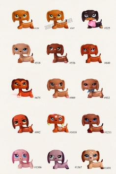 Lps Dachshund | Littlest Pet Shop Dachshund