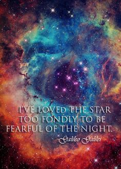 Soñando con el espacio... Bellísimo