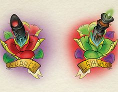 """Check out new work on my @Behance portfolio: """"Star Wars - Lightsaber Roses"""" http://be.net/gallery/31328685/Star-Wars-Lightsaber-Roses"""