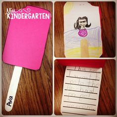 A Summer Popsicle writing Craft!  Perfect for those last few days!