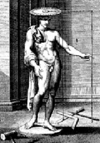 """The """"finitorium"""" described by Leon Battista Alberti in his book """"De Statua."""""""