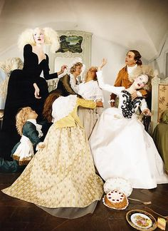 LaChapelle Studio - French Vogue - Couture Story