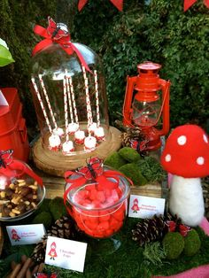 Into The Woods/Woodland/Red Riding Hood Birthday Party Ideas | Photo 1 of 24 | Catch My Party