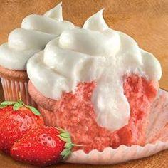 Strawberry Cheesecake Cupcakes - Allrecipes.com