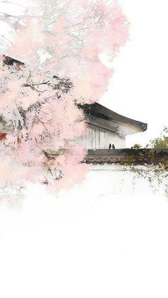 iphone wallpaper for girls - iphonewallpaper Romantic Nature, Romantic Pictures, Chinese Wallpaper, Art Asiatique, Art Japonais, China Art, Anime Scenery, Japan Art, Nature Images