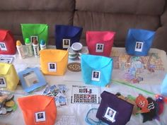 General Conference activity bags. A full tutorial on how to make the bags and ideas of activities to put in the bags