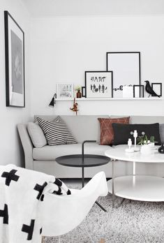 Scandinavian style living room | STYLIZIMO BLOG: New sofa