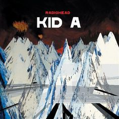 Kid A is the fourth album by rock band Radiohead. Released in the October of this album summarizes the distinct sound that makes up Radiohead. Radiohead Albums, Music Albums, Radiohead Poster, Top 100 Albums, Great Albums, Music Covers, Album Covers, Lps, World Music