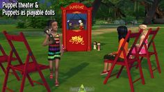 Around The Sims 4: My Sims Dolls • Sims 4 Downloads