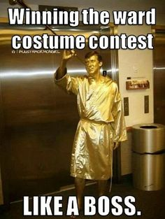 This is the greatest thing I've ever seen. Moroni costume