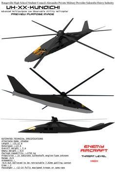 Kunoichi Low Observable Helicopter by Stealthflanker on deviantART