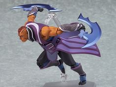 Pre-Order Release Date: May 2017 DOTA 2's aglity hero 'Anti-Mage' is joining the figma series! From the popular game 'DOTA 2' comes a figma of Anti-Mage! - Using the smooth yet posable joints of figma