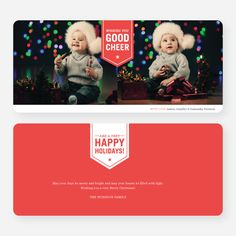 Wishing You Good Cheer Holiday Cards from Paper Culture