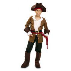 Disfraz de Bucanero para Niño #Piratas #Infantil