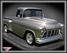 Chevrolet 1955 pickup truck, oh please!