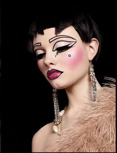 Illamasqua Theatre of the Nameless Fall 2011 Makeup