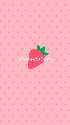 ✿Strawberry iPhone5 Wallpaper.