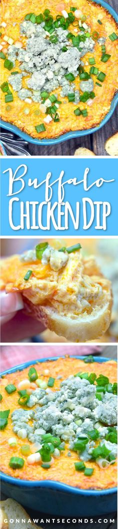 This creamy, delicious dip is a snap to make and has all the delicious flavors of Buffalo Chicken Wings without the mess!