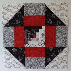 Free quilt block patterns for Colchas Quilting, Scrappy Quilts, Mini Quilts, Quilting Projects, Quilting Designs, Quilt Block Patterns, Pattern Blocks, Quilt Blocks, Log Cabin Quilts
