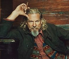 Jeff Bridges in our Wooster Field Jacket