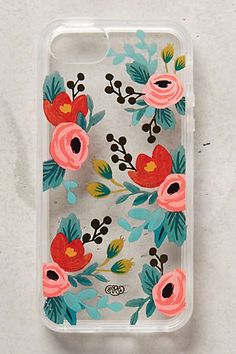 Anthropologie Europe - Lucere Floral iPhone 5 Case