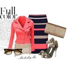"""FullColor"" by modestlyme on Polyvore"