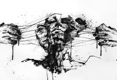 drawing restraint By: Agnes Cecile