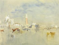 Artwork page for 'Venice: the Salute, Campanile and Doge's Palace from the Giudecca', Hercules Brabazon Brabazon