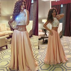 Pd09152 High Quality Prom Dress,Two Pieces Prom Dress,Beading Prom Dress,Sweetheart Prom Dress, charming Prom Dress