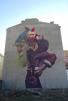 Etam Cru #streetart #rexmonkey