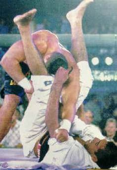 Royce Gracie. Beat dudes wayy bigger than him. Put jujitsu on the map. Was in the UFC right from the very beginning.