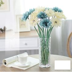 Artificial Silk Flowers that are modern, elegant, royal and colorful. Use these wonderful flowers along with Exotic Flower Vases to add more beauty.