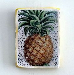 Ahoy Trader Pineapple Ceramic Wall Tile Ceramic Wall Tiles, Pineapple, Sweet Home, Ceramics, Crosses, Spy, Southern, Party, House