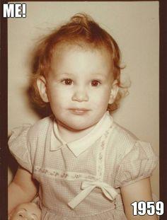 ME! 1959 (courtesy of @Pinstamatic http://pinstamatic.com)