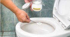 Cleaning the toilet must be one of the least liked household chores but as much as we don't like doing it we know that it has to be done. Maintaining your toilet fresh, clean and germ-free is extremely important for … Read Homemade Toilet Cleaner, Cleaners Homemade, Toilet Cleaning, Bathroom Cleaning, Sewer Smell In Bathroom, Men's Bathroom, Bling Bathroom, Bathroom Tumbler, Bathroom Images