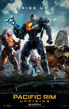 PACIFIC RIM UPRISING | In theaters March 23, 2018