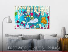 Discover «Who'sWho», Limited Edition Acrylic Glass Print by Emilia Telios - From 95€ - Curioos