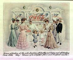 Coca Cola 1905 magazine print ads - double sided - very rare Coca Cola Poster, Coca Cola Drink, Coca Cola Ad, Coca Cola Vintage, Vintage Labels, Vintage Ads, Vintage Images, Vintage Ephemera, Old Posters