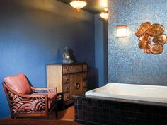 Matt Muenster, licensed contractor and host of Bath Crashers and Bathtastic!, has ideas on how to make your bathroom design unique and trendy.