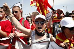 Thousands march in Skopje  Macedonia demanding governments resignation
