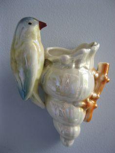 Bird wall pocket