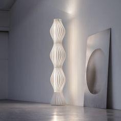 Vapor Floor Light by Studio Italia. Get it at LightForm.ca