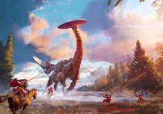 Rude Mechanicals | rahgot: Horizon: Zero Dawn ↳ Concept Art (c)...